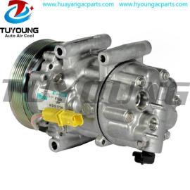 SD6C12 autoaccompressor 6453QP 6453WR For Peugeot 307 2.0 Hdi 135FAP 2003- Citroen C4 2004-