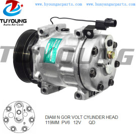 SD7H15 automotiveairconditioningcompressor SMR262971 For Mitsubishi Carisma 1.9 2000 - 2006