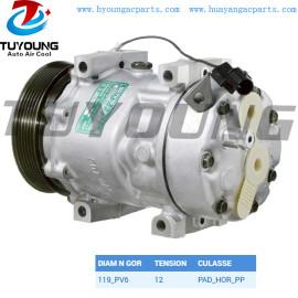 SD7V16 automotiveairconditioningcompressor 30805511 For Renault Megane Classic 1.9 dT 1996 - 1998