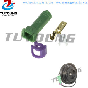 447170-6350 1 pin auto a/c air conditioning compressor clutch connector VW Passat Audi A4 A6 8D0260808