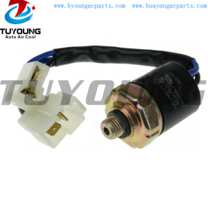 Universal R134a Male Trinary Switch auto ac Pressure Switch / pressure sensor with 2 Wire Harness Connector