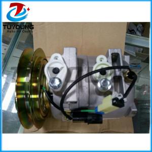 DKV14C AUTO air A/C compressor for Hitachi Excavator Hyundai 506021-7082 5060217082 11N892040 A5000674001 24V 102mm 1PK