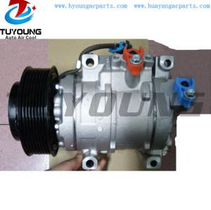 denso 10SRE18C Car AC Compressor John Deere 6105D Tractor 10SRE 18C RE284680 SE502697 Direct Mount