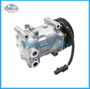 sanden 7H15 130mm 12v 7pk Ac compressor Dodge Pick UP Ram Durango Dakota 58553 CO 4785C SD 4888 4834 4845 4846 55055540AE