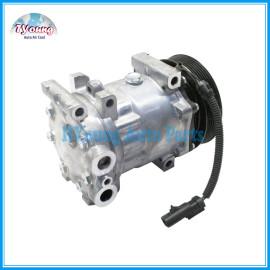 sanden 7H15 130mm 12v 7pk Ac compressor Dodge Pick UP Ram Durango Dakota 58553 CO 4785C SD 4888 4834 4845 4846 55055540AE