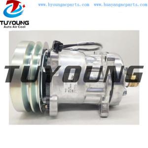 Sanden auto ac compressor 7H15 2PK 152MM SD 4609