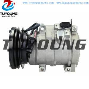 Caterpillar auto ac compressor 10S17C DCP99809 25972-44 247300-4610 437100-5040