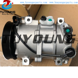 DV12 PN# 977011R000 vehicle ac compressor for Hyundai Accent Veloster i20 97701-1R000 977011J100 977011J101 8FK351272091