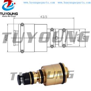 ac electronic control valve 5SE12 6SEU16 auto ac control valve AUDI A4 A6 A8 447170-7900 447220-8394 8E0260805F