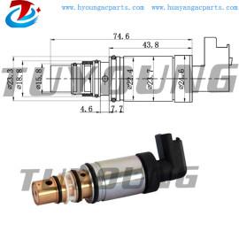 Peugeot 207 307 5008 ac electronic control valve SD7C16 6C16 1363F auto ac control valve Citroen C3 C4 C5 9659875780 6453.QJ
