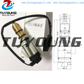 VW Audi Skoda Seat ac electronic control valve PXE13 PXE16 auto ac control valve SD 1620 1711 1K0820803F 1K0820803G