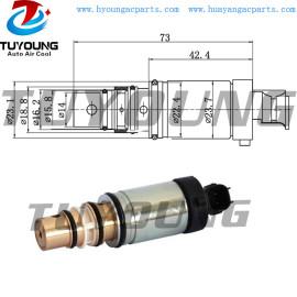 Opel ac electronic control valve Sanden PXE13 PXE14 PXE16 auto ac control valve