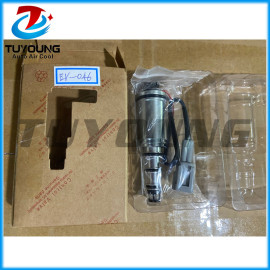 new Nissan with wiring harness car ac manual control valve new electric control valve auto ac compressor