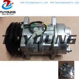Sanden 7H15 6035 Volvo automotive air conditioner Compressor 24V 132mm 2pk