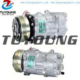 SD7H15 6453NR 7882 auto air compressor Fiat Ducato Citroen Jumper Relay Peugeot Boxer Bus 198137 98462134