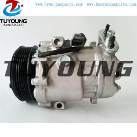 Sanden 1440F 1440E 6V12 PV6 105 mm 12 V auto ac compressor for Opel ISUZU 1854107 6854048