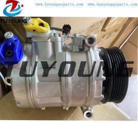 7SEU17C auto ac compressor BMW 530XI M5 M6 E60 E90 64526932176  64526956716 447190-8540 DCP05036