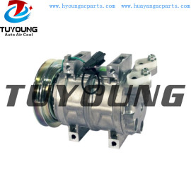 DKS-15CH auto AC compressor Hitachi John Deere Kobelco Komatsu 506011-9910 22B-979-1631 22U9791711