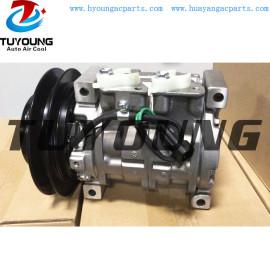 4709228 10S13C 24V Car ac compressor fit Machine truck Komatsu Hitachi Daewoo Hyundai Kobelco Volvo