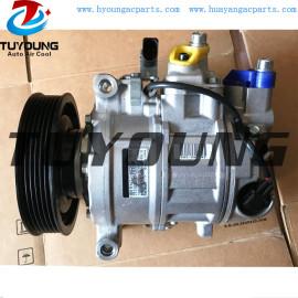 6SEU14C AUDI A4 A5 Q5 auto ac compressor 248300 1800 437100-7410 DCP02043 8K0260805A 8K0260805D 447150 1160