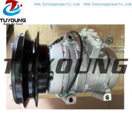 Caterpillar excavator 320D vehicle ac compressor Cat air pump 1pk 24v 10s17c