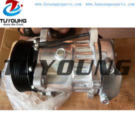 Sanden 7h13 12v 8pk vehicle air conditioner ac compressor