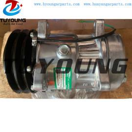 HY-AC7240 SD7H15 709 4435 132mm 2 PK 24V Volvo truck vehicle ac compressor