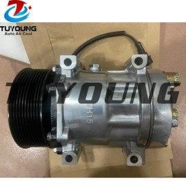 SD7H15 auto ac compressor Case New Holland Agriculture Agricultural tractor 87300121 87709773 SD8217