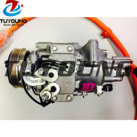 HBC198 Auto a/c compressor for Honda Civic Hybrid-L Acura ILX Hybrid 1.5L L4 38810RW0A01