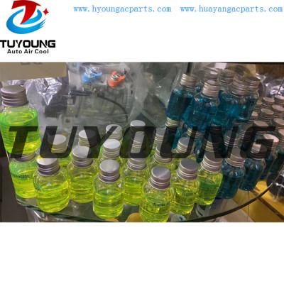 Auto ac fluorescent oil, detect gas leakage of compressors, auto air conditioning compressor fluorescent oil