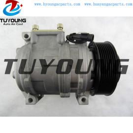 10PA15C Auto a/c compressor John Deere 319 319D 323 323D 323E 329D 7700038545 AL176857 AL155836
