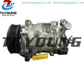 SANDEN SD6C12 1372F auto a/c compressor for Peugeot 3008 208 CITROËN DS3 1.6 9802456780 9802457680