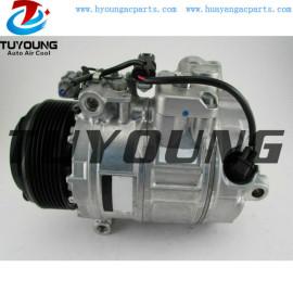 7SBU17C Auto a/c compressor BMW 525d 530d 730d X6 30d X5 35d 3.0 447160-1210 447160-9791 64526987890
