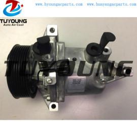 CR08 Auto a/c compressor for Nissan March Note Juke Versa 1.6L L4 926001HC2B 926001KC5A 926003VB0C