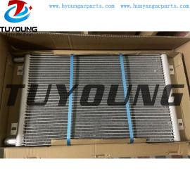Sanden auto ac condenser fit Komatsu 56E0721133 Z-RW36599Y ZRW36599Y core size 595*353mm auto aircon condenser