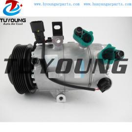VS14E Auto A/C Compressor for Hyundai Elantra SE GLS 2.0L L4 97701F2100 168374 97701-F2100 6pk 12v