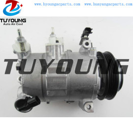 6SBH14C Auto A/C Compressor for Ford Mustang EcoBoost 2.3L 2015-2020 FR3Z19703A FR3Z-19703-M 168310