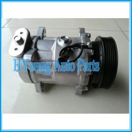 7V16 auto A/C compressor for ALFA ROMEO 156 166 GTV 3.0 V6 24v 1997-1999 606072890 60607289 60813335