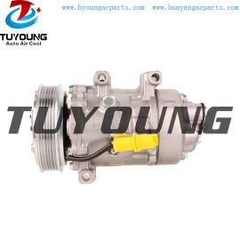 SD6V12 auto ac compressor for Peugeot 307 2.0 1444 6453PF 9647213380