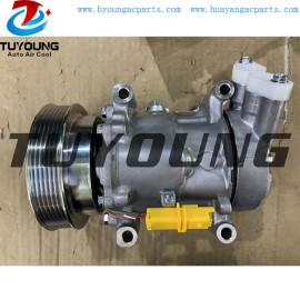 SD6V12 auto a/c compressor for Renault Kango 1.6 NV200 1.5 8200953359 2763000Q1M 92600AZ74A