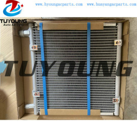 auto A/C condensor for fit for KUBOTA B5030  L4630  L5030 T205572220 size 361* 368* 17 mm