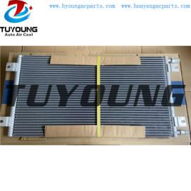 auto ac condenser for KOMATSU 56E0721132 56E-07-21132 size 673* 352* 22 mm