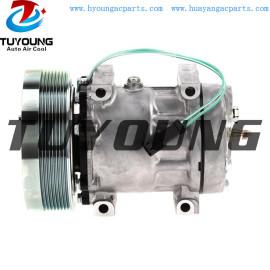 SD7H15 Auto A/C Compressor for CATERPILLAR Case IH New Holland Tractor 183-5106 4302 4840 58798 5318