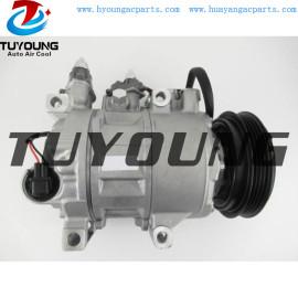6SBH14C auto a/c compressor for Ford Focus 2.0L 2.3L 2014- 2018 EV6Z19703A H1FZ19703B 178399