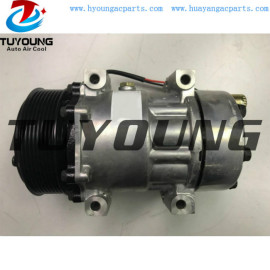 SD7H15 Sanden 709 auto a/c compressors for Ford F650 F750 5.9L 2004- 2015 Kenworth heavy truck