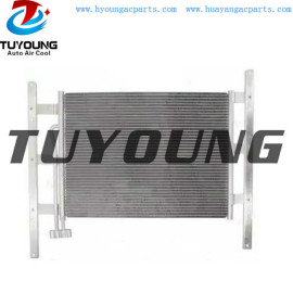 auto ac condenser for MAN truck 81619200017 size 745*585 mm