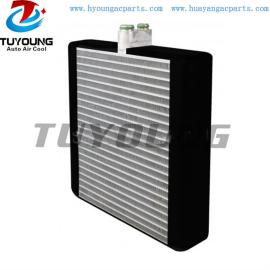 Auto a/c evaporator for Case Kobelco excavator Digger truck Height 241mm