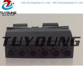 BEU-404-000 6 holes auto ac Evaporator Unit Single cooling