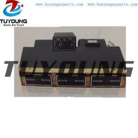 BEU-848-100 Walnut Wood auto ac Evaporator Unit Single cooling