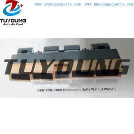 BEU-223L-100N Walnut Wood auto ac Evaporator Unit cooling , car ac Evaporator Unit BEU223L100N